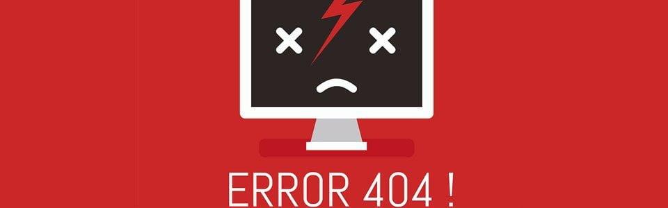 404 Errors