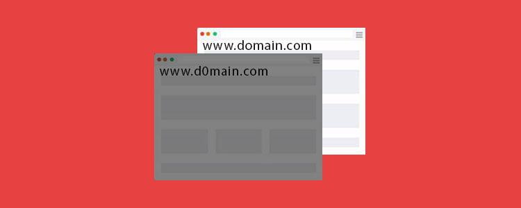 Lookalike URLs