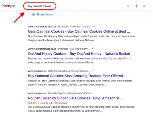 Google result